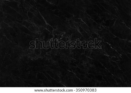 black marble texture abstract background pattern  - stock photo
