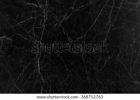 black marble texture for background - stock photo