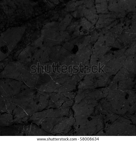 Black marble texture (High resolution) - stock photo