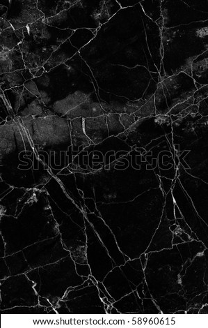 Black marble texture (high resolution core tissue) - stock photo