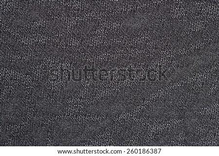 Black nonwoven fabric texture background - stock photo