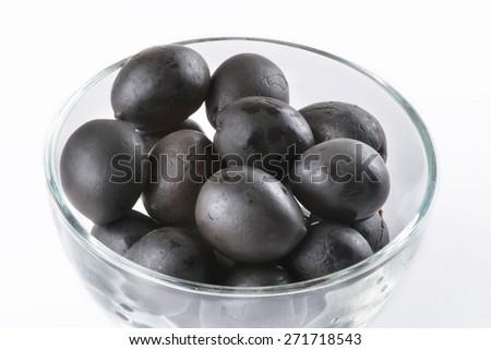 black olives - stock photo