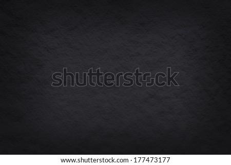 black paper background - stock photo
