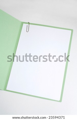 black paper cover for writing, and graphics - stock photo