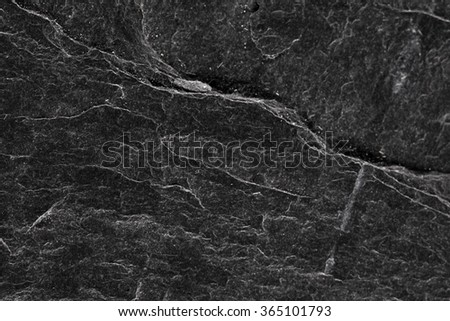 Black rock texture background - stock photo
