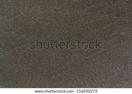 Black Sand Closeup Texture Background - stock photo