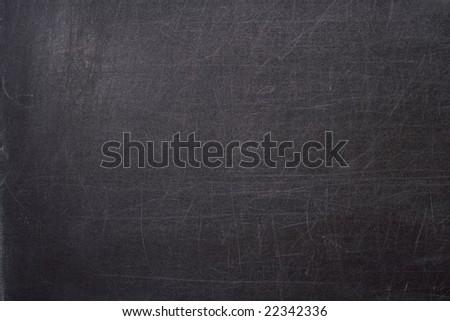 Black school board; Art background, texture - stock photo