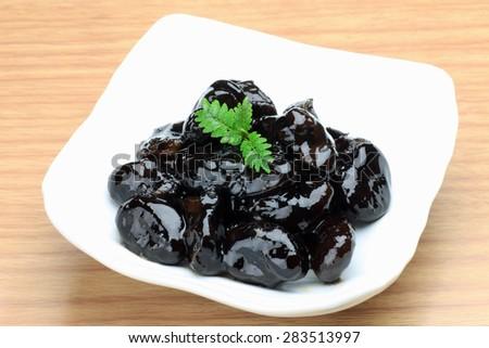 black soybean  - stock photo