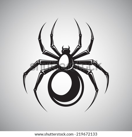 black widow spider silhouette - photo #34