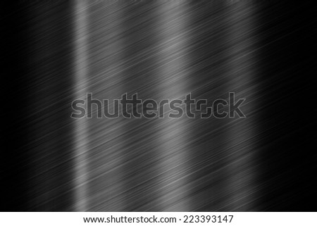 Black steel texture - stock photo