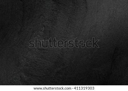 Black stone background - stock photo