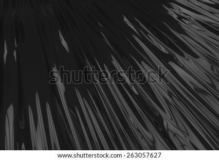 Black Surface Background - stock photo