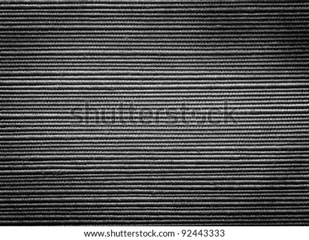 Black textile pattern texture or background - stock photo