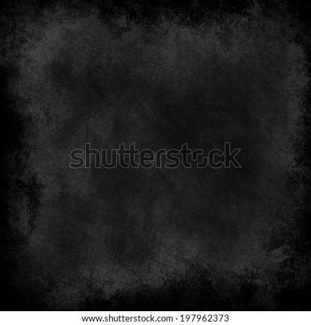 black texture paper - stock photo
