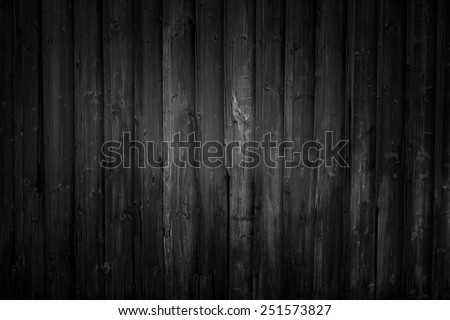 Black wood, dark background structure, very high resolution - stock photo