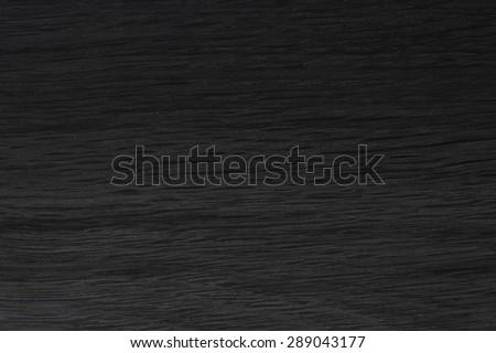 Black wood (oak) texture. - stock photo