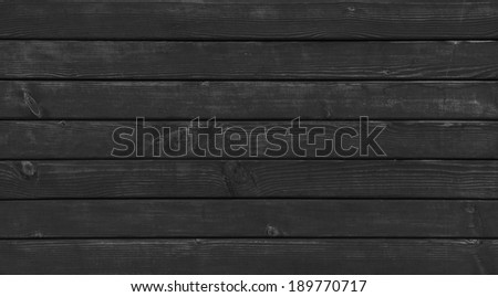 black wood striped texture - stock photo