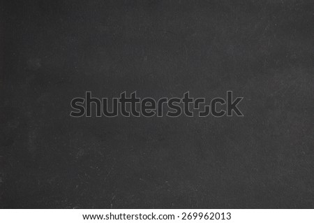 Blackboard as background and with space for writing - stock photo