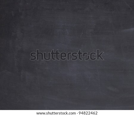 Blackboard or chalkboard texture - stock photo