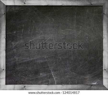 Blackboard with Copy Space to add your own text. - stock photo