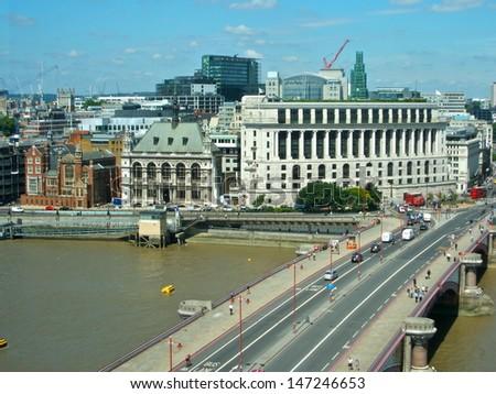 Blackfriars Bridge, London - stock photo
