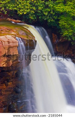 Blackwater Falls, West Virginia - stock photo