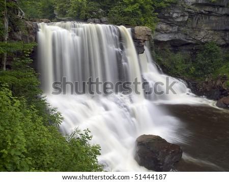 Blackwater Falls, West Virginia - stock photo