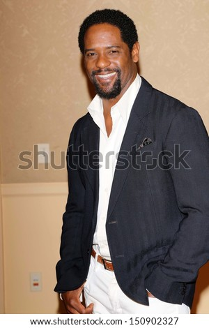 Blair Underwood at the Hollywood Foreign Press Association's 2013 Installation Luncheon, Beverly Hilton, Beverly Hills, CA 08-13-13 - stock photo