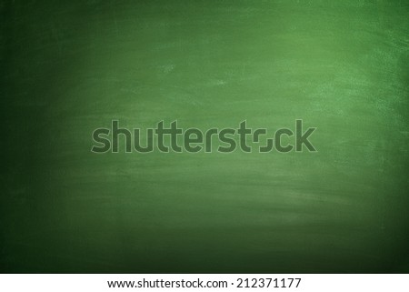 Blank Blackboard - stock photo