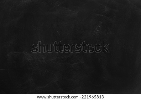 Blank Blackboard Background - stock photo
