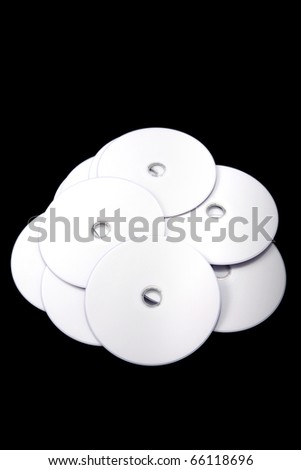 Blank CD - stock photo