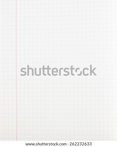 Blank exercise book pattern abstract background - stock photo