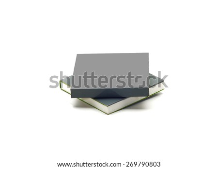Blank Grey product box with front copy space  - stock photo