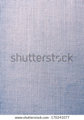 Blank Grungy Canvas Background - stock photo