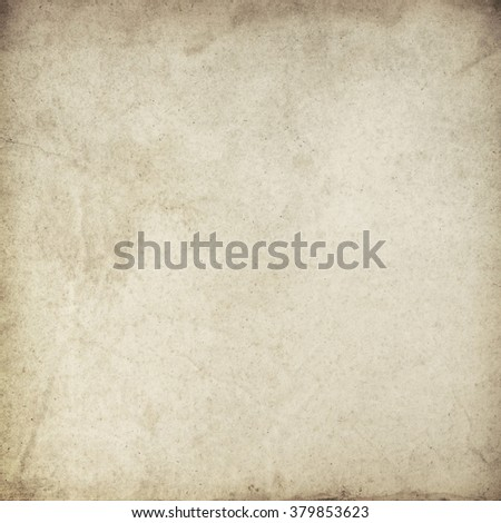 Blank old paper texture for Your design. - stock photo