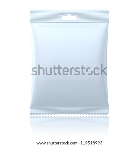 Blank pack - stock photo