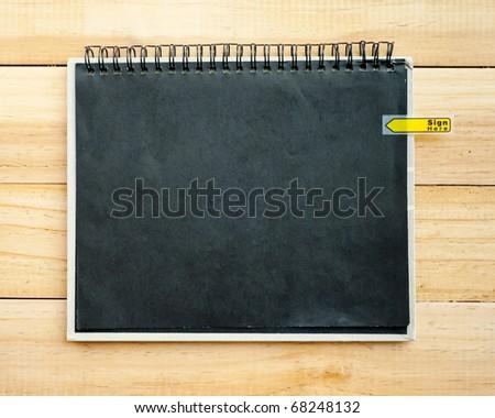 Blank Paper - stock photo