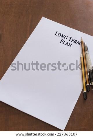 term paper plan