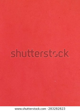 Blank sheet of red paper useful as a background - stock photo