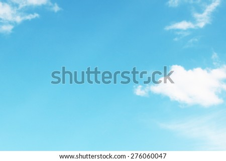 Blank spacy of sky  - stock photo