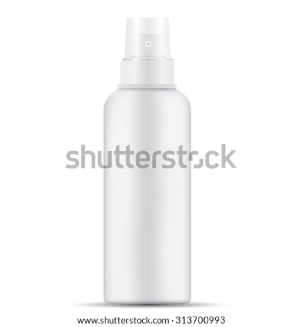 Blank Spray Bottle - stock photo