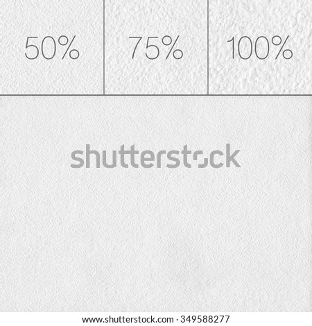 Blank watercolor paper texture or background. Empty highly-textured white watercolor paper. - stock photo