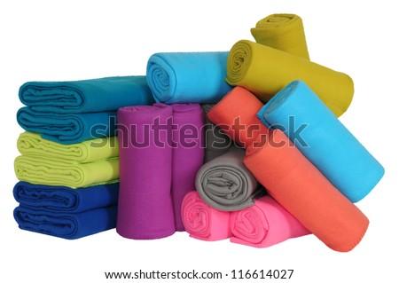 Blankets. - stock photo