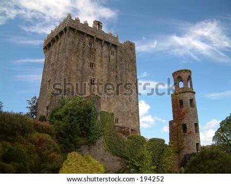 Blarney Castle, Ireland - stock photo