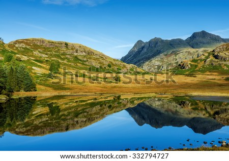Blea Tarn, English Lake District - stock photo