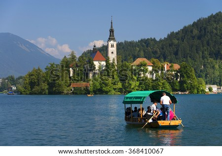 Bled in Sovenia, Europe - stock photo
