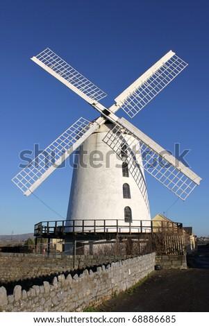 Blenerville Windmill,Tralee  in Ireland. - stock photo