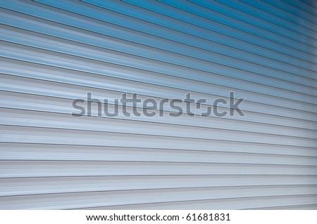 blinds, roller blinds - stock photo