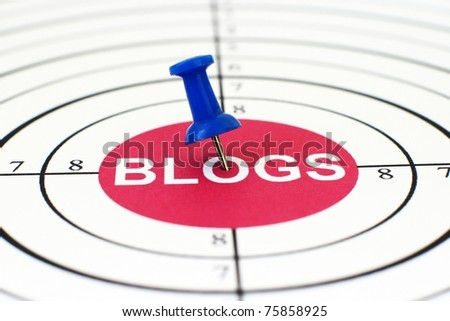Blogs - stock photo