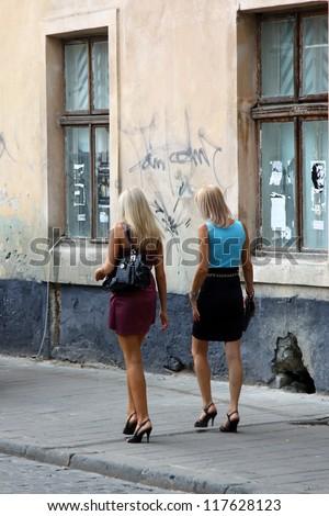 Blonde Girls 01 - stock photo